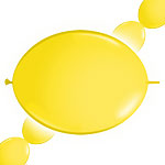 "Yellow Quicklink Balloons - 12"" Latex"