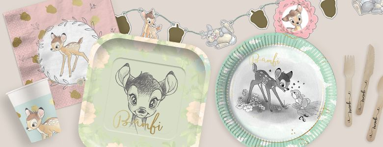 Bambi Party Supplies Party Delights