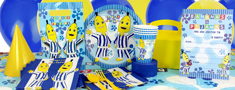 Bananas in Pyjamas Party Supplies