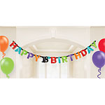 18th Birthday Letter Banner -
