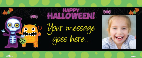 Halloween Custom Banner 6ft