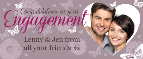 Engagement Custom Banner 6ft