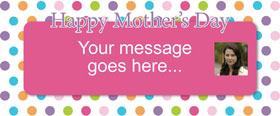Mothers Day Custom Banner 6ft. x 2.5ft.