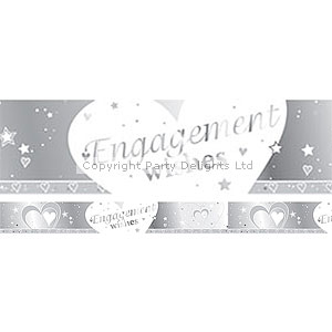 Engagement 9ft Banner