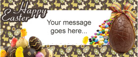 Easter Party Custom Banner 6ft. x 2.5ft.
