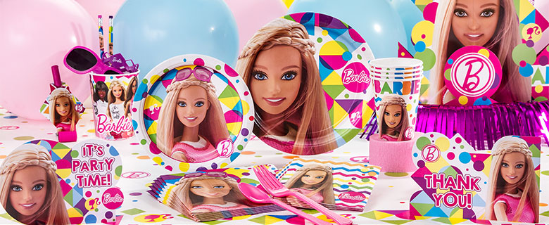 Barbie Party Supplies