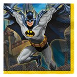 Batman Paper Beverage Napkins - 25cm