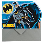 Batman Thank You Cards