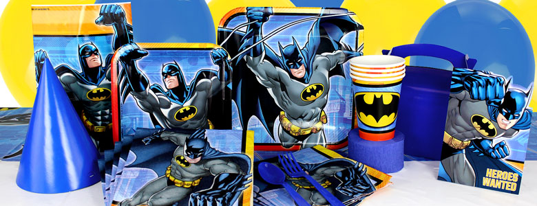 Batman Party Supplies Party Delights