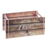 Beautiful Botanics Pop Up Cardboard Crate