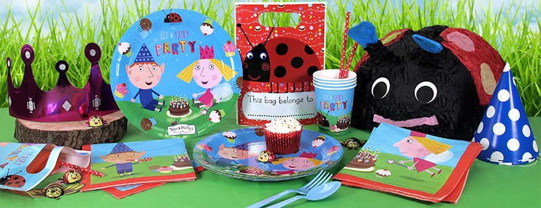 Ben and Holly Party Supplies