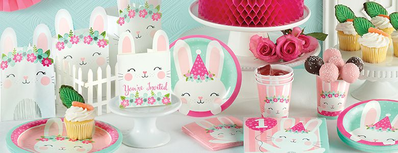 Birthday Bunny Party Supplies