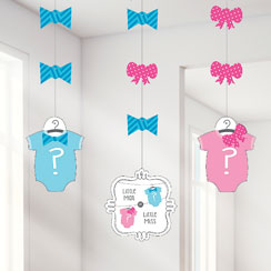 Bow or Bow Tie Hanging Decorations