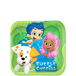 Bubble Guppies Plates - 17cm Paper Party Plates