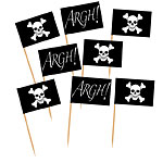 Pirate Flag Cupcake/Sandwich Picks