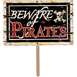Beware of Pirates 3D Sign