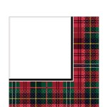 Tartan Party Napkins - 2ply Paper