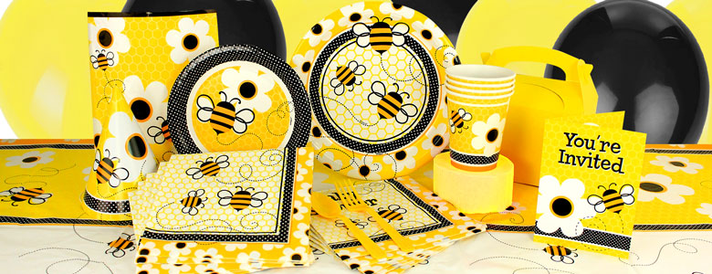 Busy Bees Party Supplies