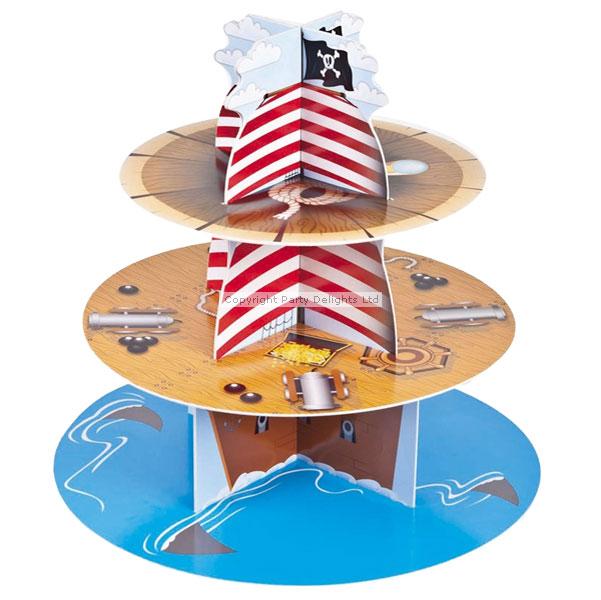 Jake The Pirate Cupcake Cake