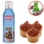 Easy Swirl Cupcake Icing - Chocolate