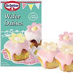 Wafer Daisies Cake Decorations