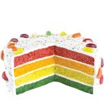 Rainbow Cake - Baking Kit