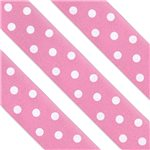 Pink Polka Dot Cake Ribbon