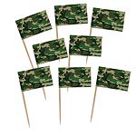Camouflage Flag Picks