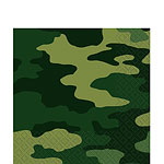 Camouflage Luncheon Napkins - 2ply Paper