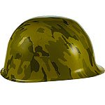 Camouflage Plastic Army Hat