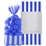 Cellophane Sweet Bags - Bright Royal Blue