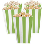 Candy Buffet Popcorn Boxes - Kiwi