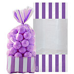 Cellophane Sweet Bags - New Purple