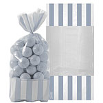Cellophane Sweet Bags - Silver