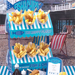 Fish & Chip Stand
