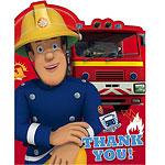 Fireman Sam Thank You Cards