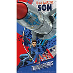 Thunderbirds Son Birthday Card