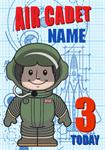 Air Cadet 3rd Birthday - Personalised Card