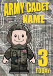 Army Cadet 3rd Birthday - Personalised Card