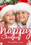 Happy Christmas - Personalised Photo Card