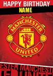 Manchester United Birthday - Personalised Card