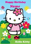 Hello Kitty - Personalised Card