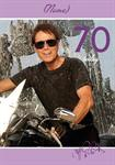 70th Birthday Cliff Richards - Personalised Card