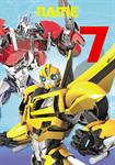 Transformers 7th Birthday - Personalised Card