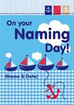 Sailor Naming Day - Personalised Card