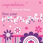 Engaged - Personalised Card