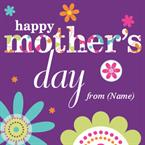 Happy Mothers Day - Personalised Card