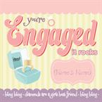 You're Engaged - Personalised Card