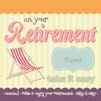 On your Retirement - Personalised Card