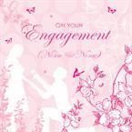 On Your Engagement - Personalised Card